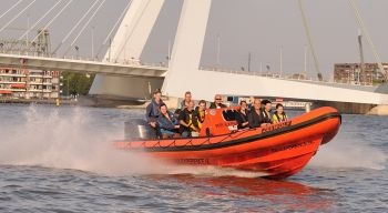 Klanten-event in supersnelle powerboats