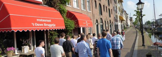 Teambuilding Delfshaven: walking dinner