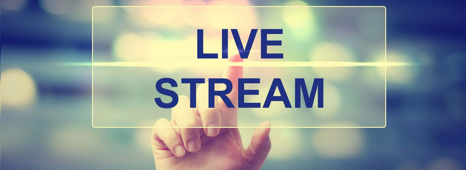 Digitale live events & live streaming