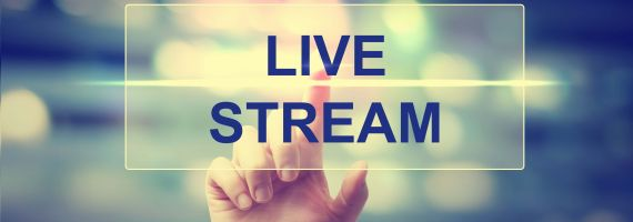 Digitale online live events & live streaming